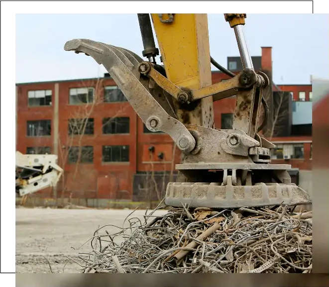 Professional dismantling and removal of scrap metal in Kharkiv