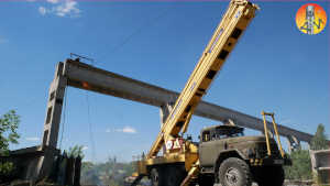Video – Dismantling of a bridge crane at heights‎